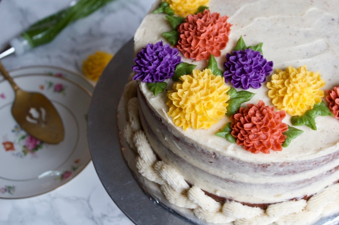 Humming Carrot Cake